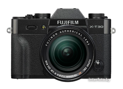 Fujifilm X-T30 Kit 18-55mm Black- фото