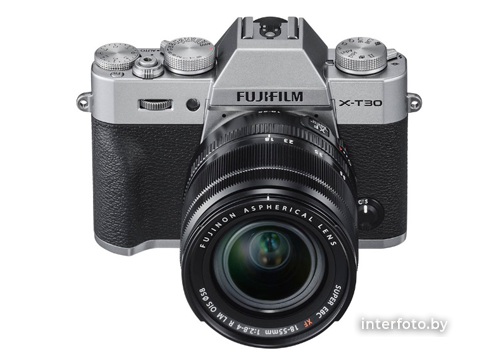 Fujifilm X-T30 Kit 18-55mm Silver- фото2