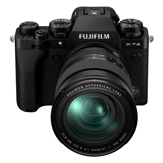 Fujifilm X-T4 Kit 16-80mm Black- фото3