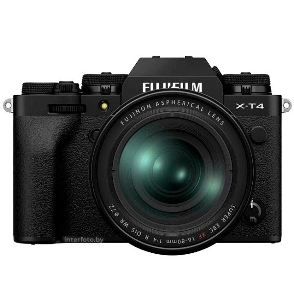Fujifilm X-T4 Kit 16-80mm Black- фото