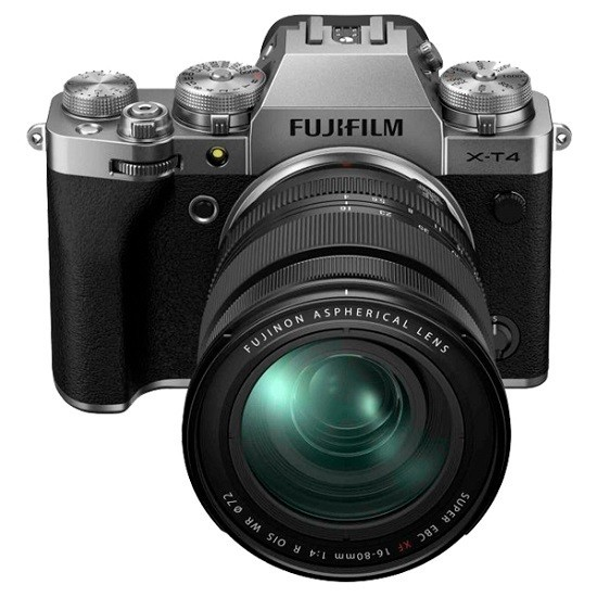 Fujifilm X-T4 Kit 16-80mm Silver- фото2