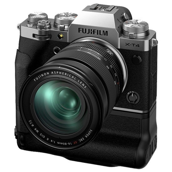 Fujifilm X-T4 Kit 16-80mm Silver- фото5