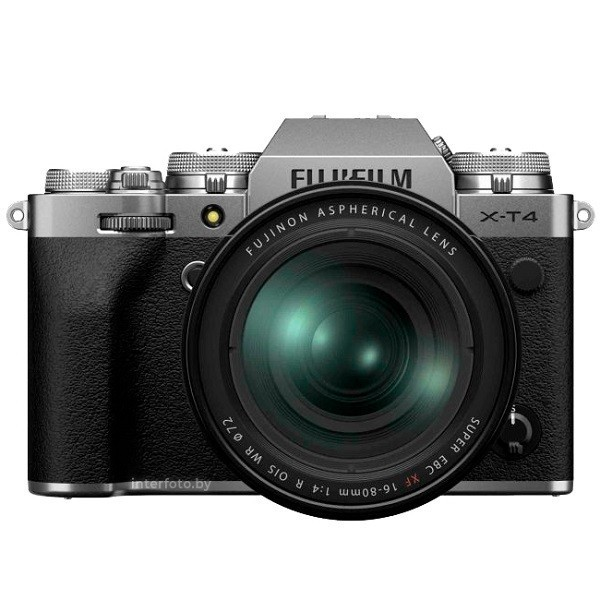 Fujifilm X-T4 Kit 16-80mm Silver- фото