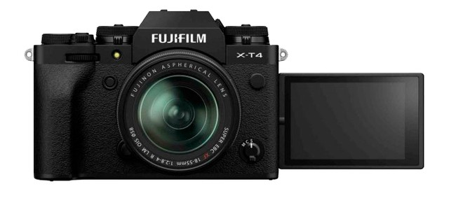 Fujifilm X-T4 Kit 18-55mm Black- фото2