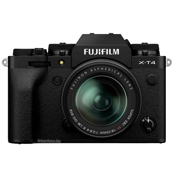 Fujifilm X-T4 Kit 18-55mm Black- фото