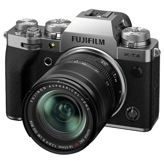 Fujifilm X-T4 Kit 18-55mm Silver - фото6