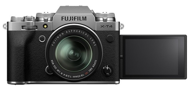 Fujifilm X-T4 Kit 18-55mm Silver - фото5