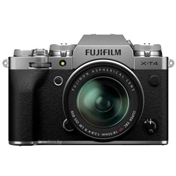 Fujifilm X-T4 Kit 18-55mm Silver- фото