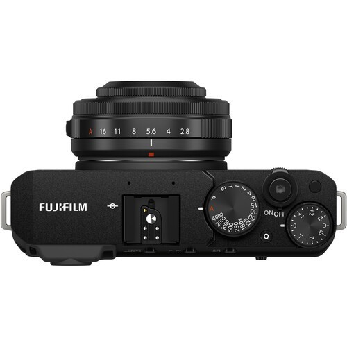 Fujifilm X-E4 Kit 27mm F2.8 WR R Black- фото3