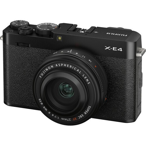 Fujifilm X-E4 Kit 27mm F2.8 WR R Black- фото5