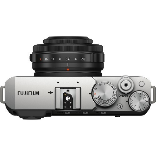 Fujifilm X-E4 Kit 27mm F2.8 WR R Silver- фото2