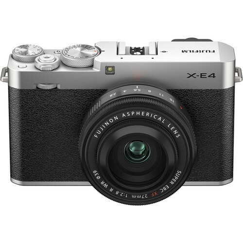 Fujifilm X-E4 Kit 27mm F2.8 WR R Silver- фото6