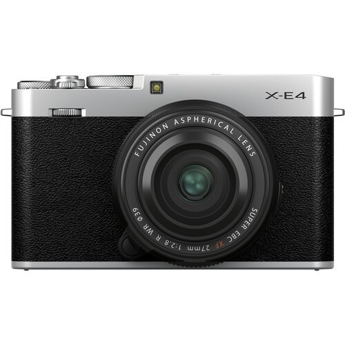 Fujifilm X-E4 Kit 27mm F2.8 WR R Silver- фото
