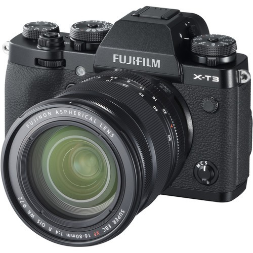 Fujifilm X-T3 Kit 16-80mm Black- фото2