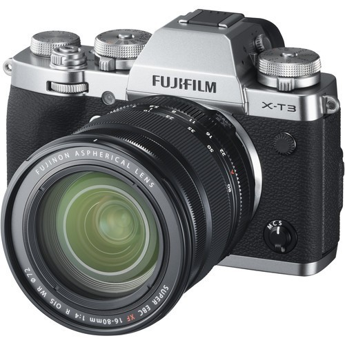 Fujifilm X-T3 Kit 16-80mm Silver- фото2